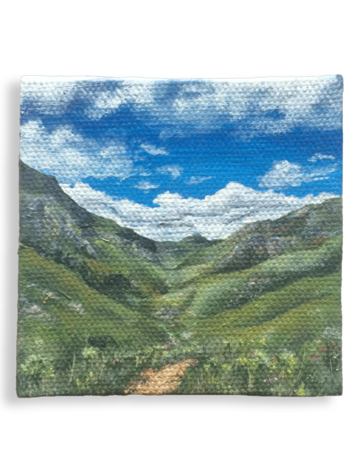 """Journey"" - Greyton McGregor Trail, aka the Boesmanskloof pass, South Africa, weighs 20 grams"