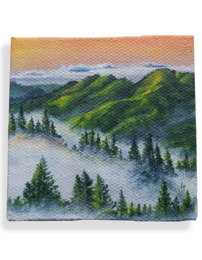 """Rising"" - Mount Tamalpais, California - Inspired by @dubsontata photography, weighs 20 grams"