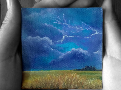 'When it's Raining' – Day 61/365 – Triptych R2450