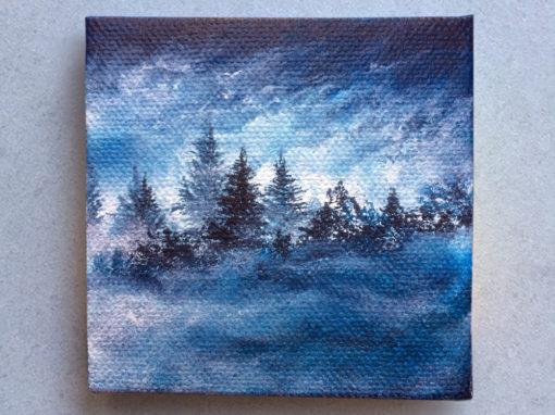 'Famous Blue Rain' – Day 166/365 – Sold