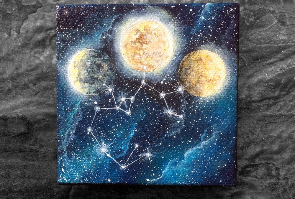 'Children of Sagittarius' – Day 167/365 – SOLD