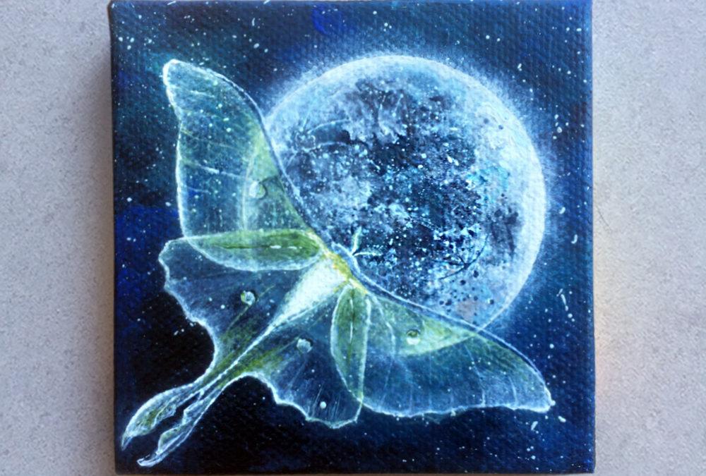 'Luna Moth' – Day 286/365 – R2100