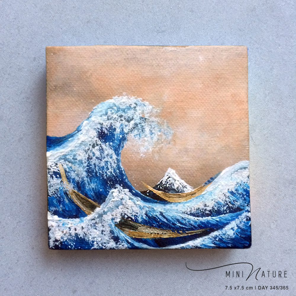 'Imprinted By A Great Wave' – Day 345/365