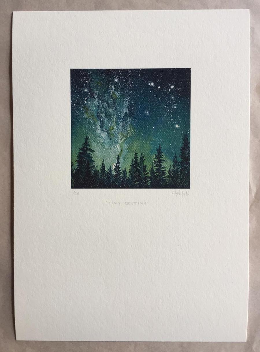 starry sky prints
