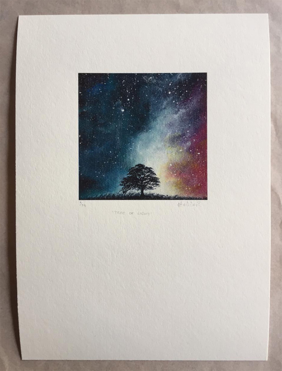 tree of light prints
